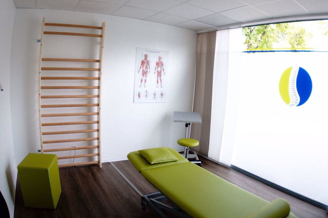 Physiotherapie Hand in Hand Behandlungszimmer